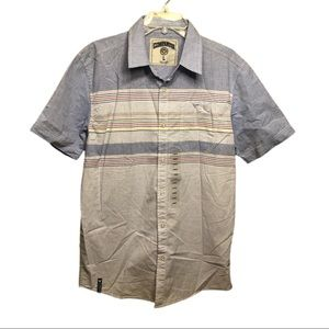 NWT Men's Stripe Button Down